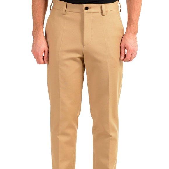 "Hugo Boss Men's ""Parin3"" Beige Fashion Fit Casual Pants US 32R IT 48"